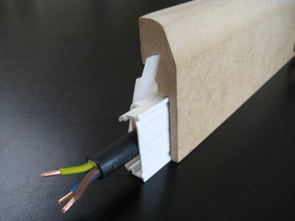 Электрический кабель в кабель-канале